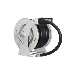 Hose reel with 10-20m hoses
