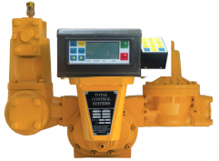 Meter with electronic register, strainer, air eliminator and solenoid valve