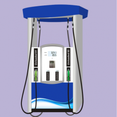 AISTAR-5 four nozzles fuel dispenser