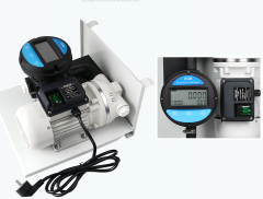 DEF pumps with flowmeters