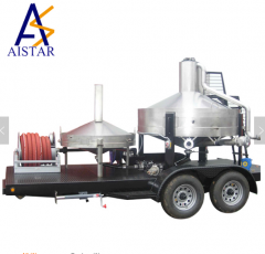 Heavy duty calibration tank with trailer